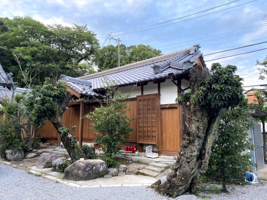 伊藤建築の社寺改修